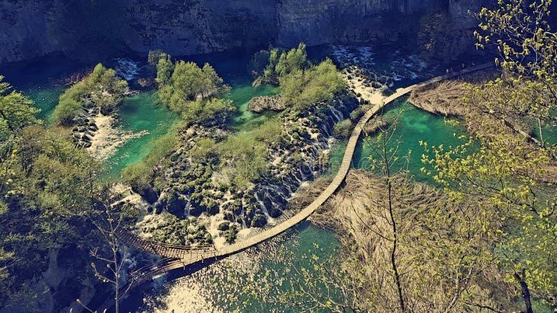 Plitvice nationalpark arkivbild
