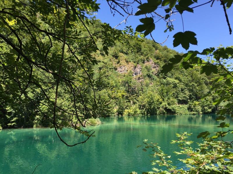 Plitvice park narodowy fotografia stock