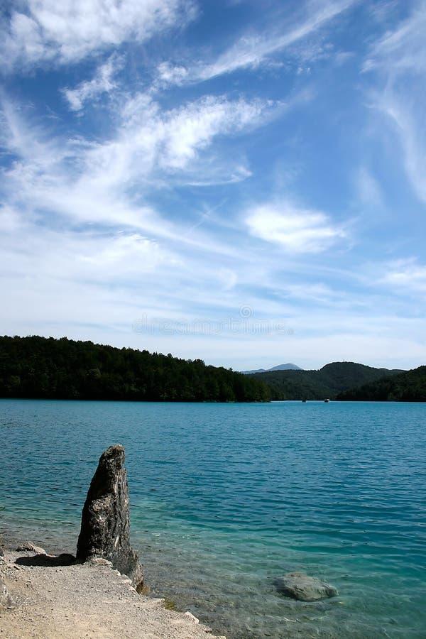 Download Plitvice - See stockfoto. Bild von fischen, baden, hell - 26370