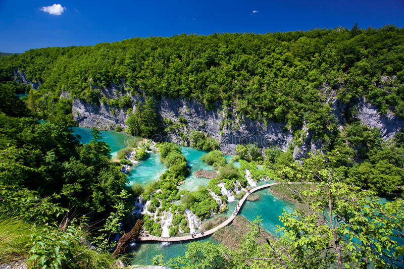 Plitvice See-Nationalpark stockfotos
