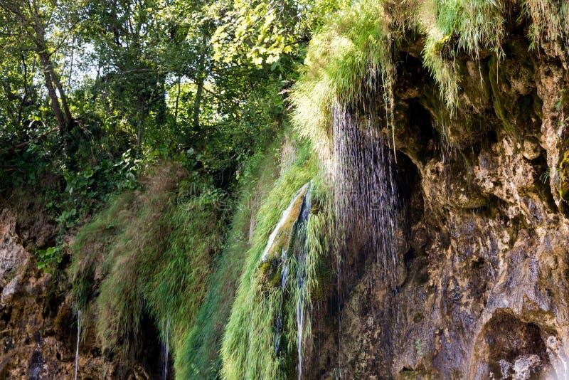 Plitvice See-Nationalpark in Kroatien lizenzfreies stockbild