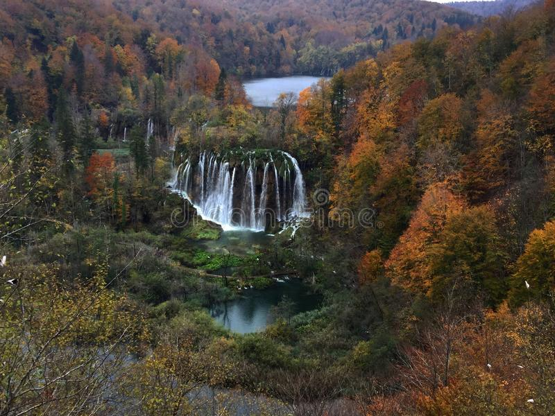 Plitvice Seen stockbilder