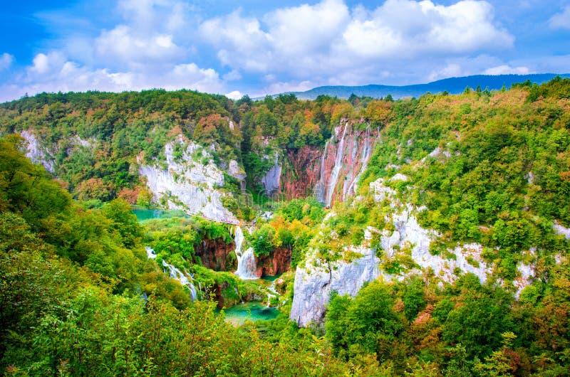 Plitvice Seen, Kroatien lizenzfreie stockbilder