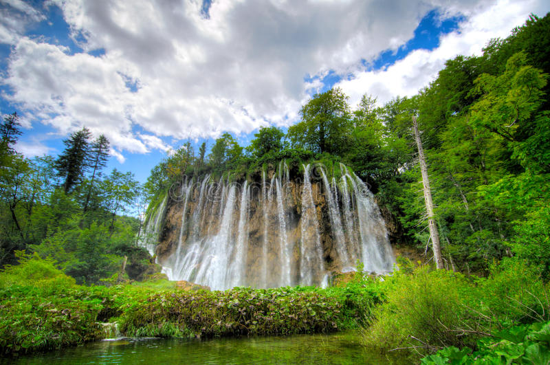 Plitvice Wasserfall lizenzfreie stockfotografie