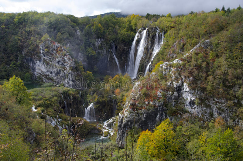 Plitvice Waterfalls, Croatia Stock Image