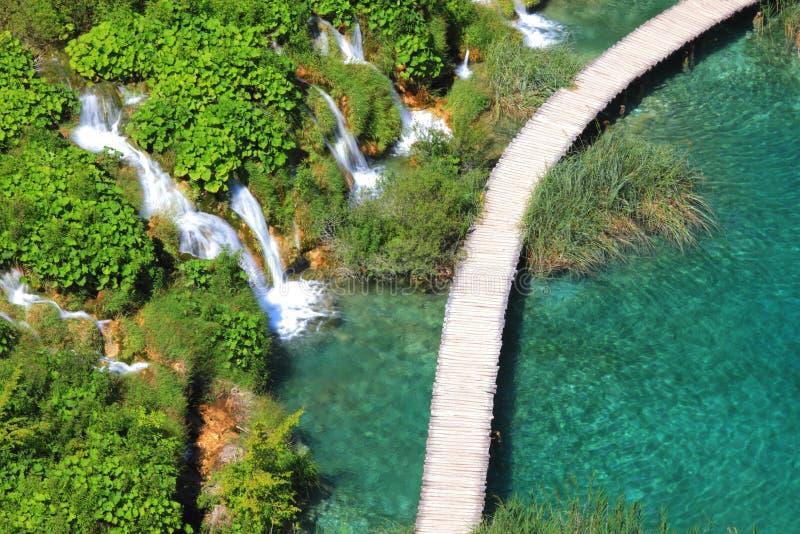 plitvicka jezera Хорватии стоковые изображения