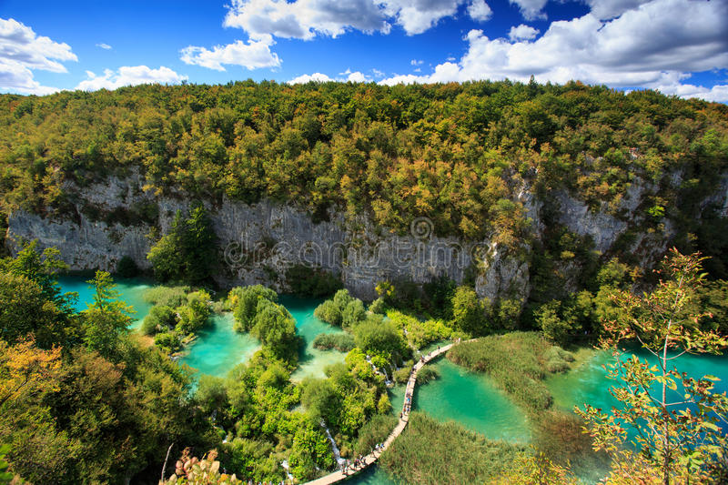Plitvicka jezera stock photo