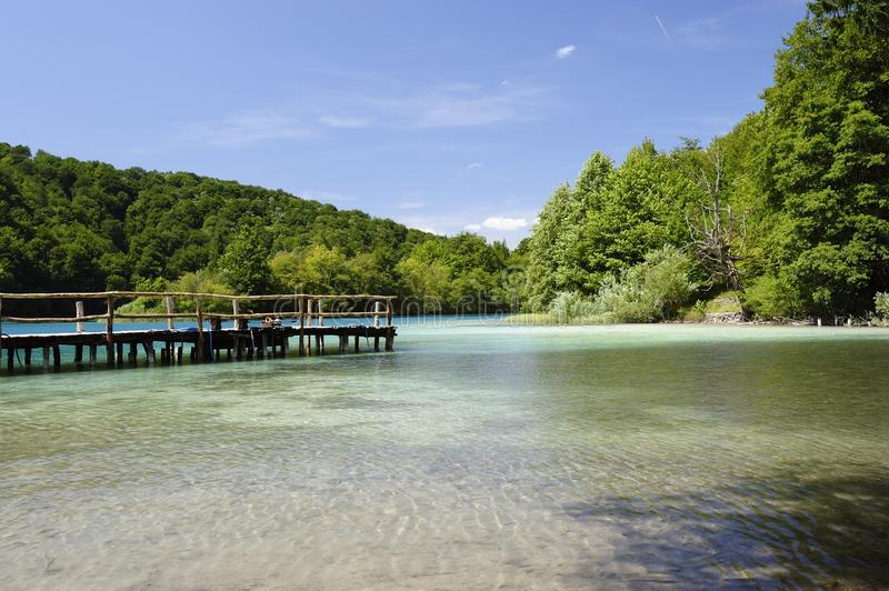 Plitvicka Jezera National Park (Croatia) stock images