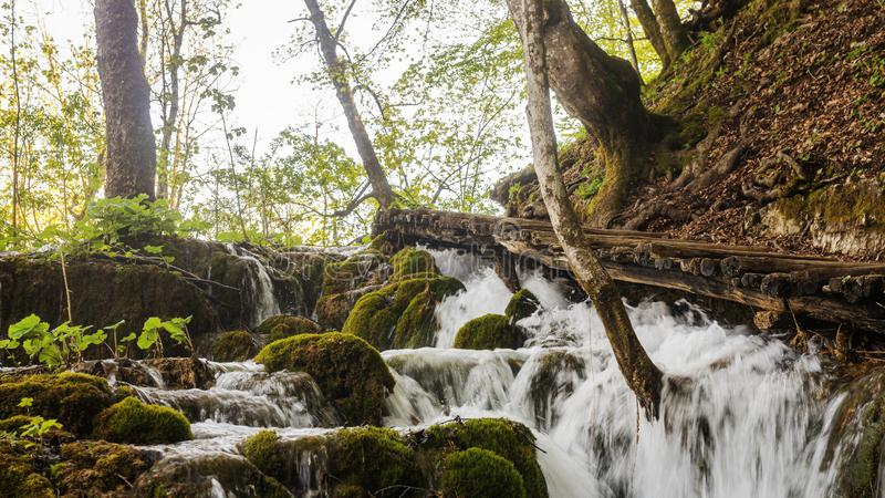 Plitvicka lake national park stock photography