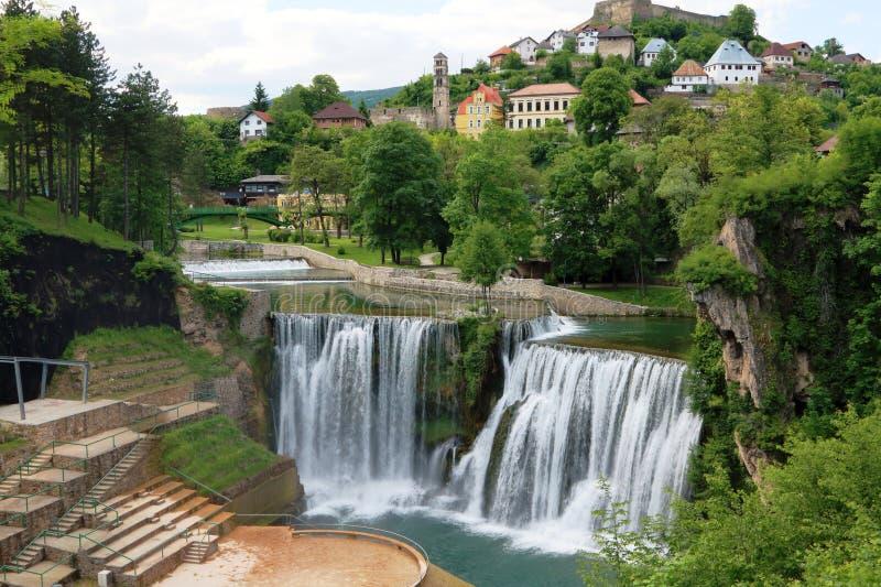 Pliva Waterfall 1 royalty free stock image