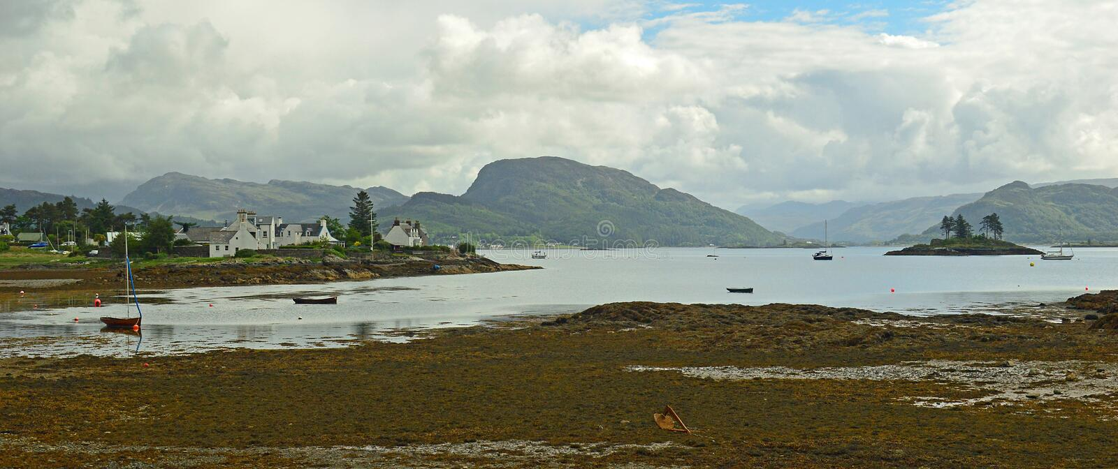 Plockton, Ecosse Royaume-Uni l'Europe photos libres de droits