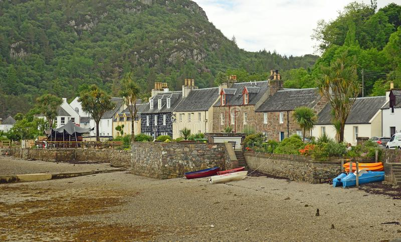 Plockton, Escócia Reino Unido Europa imagem de stock royalty free