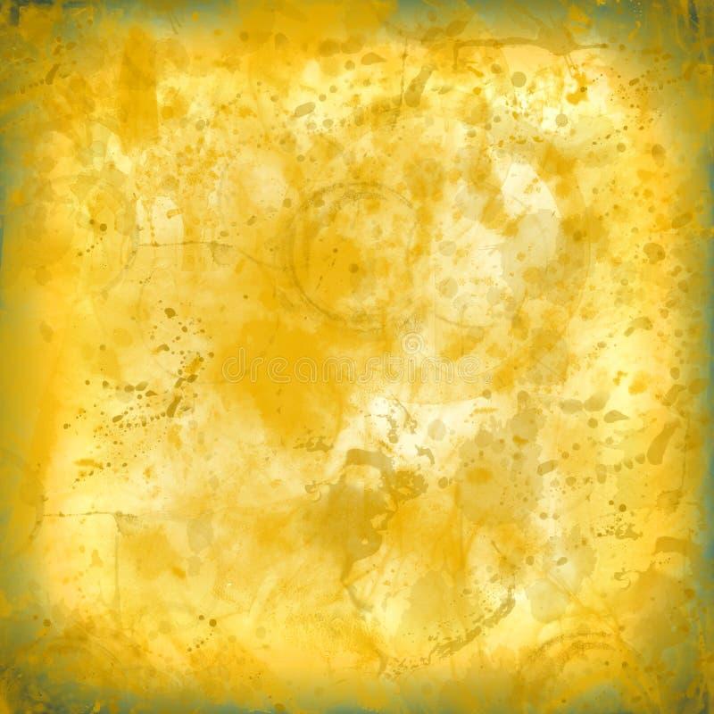 Ploeter bevlekte sinaasappel versleten textuur oude document achtergrond geen I stock afbeeldingen
