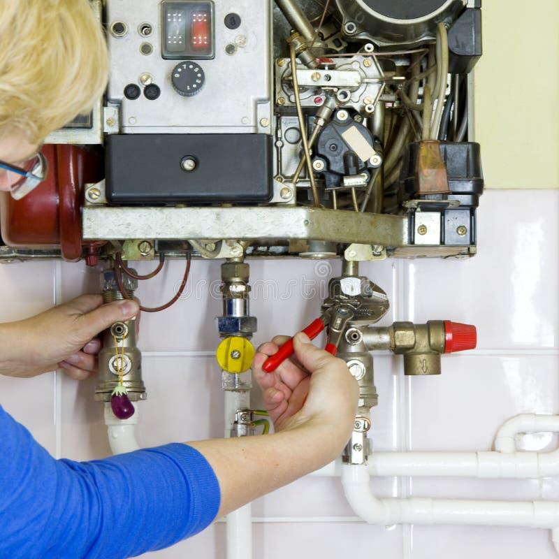 Plombier photo libre de droits