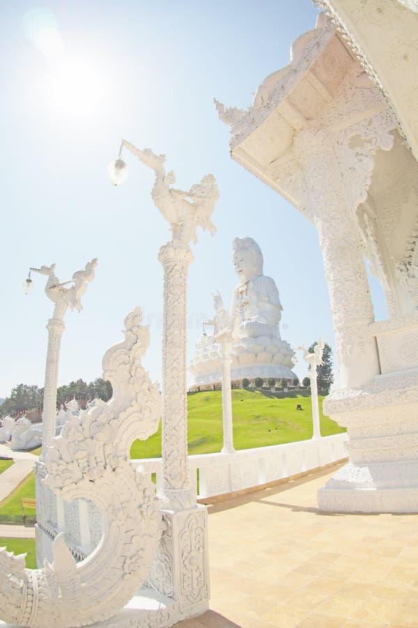PLOMMONER FÖR WAT HUAY GJORDE TILL KUNG STOR BUDDHA royaltyfri foto