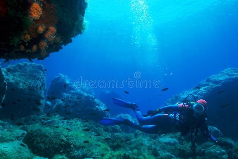 Plongeur images stock