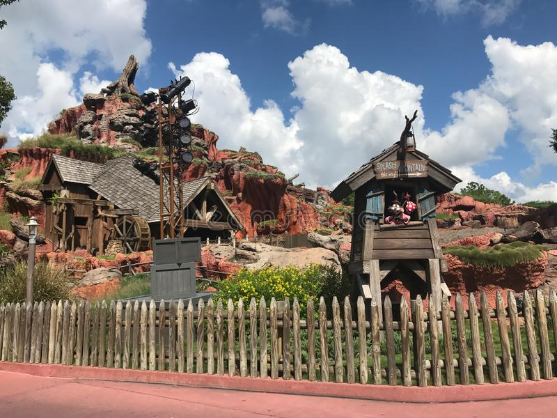 Plonsberg in Walt Disney World stock afbeeldingen