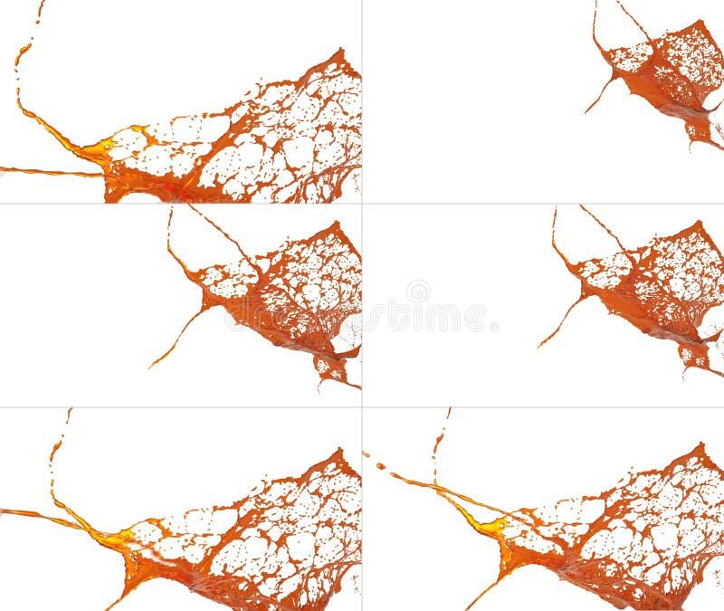 Plonseninzameling op witte achtergrond vector illustratie