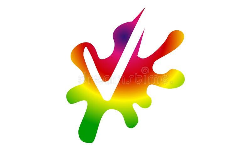 Plonsvinkje vector illustratie