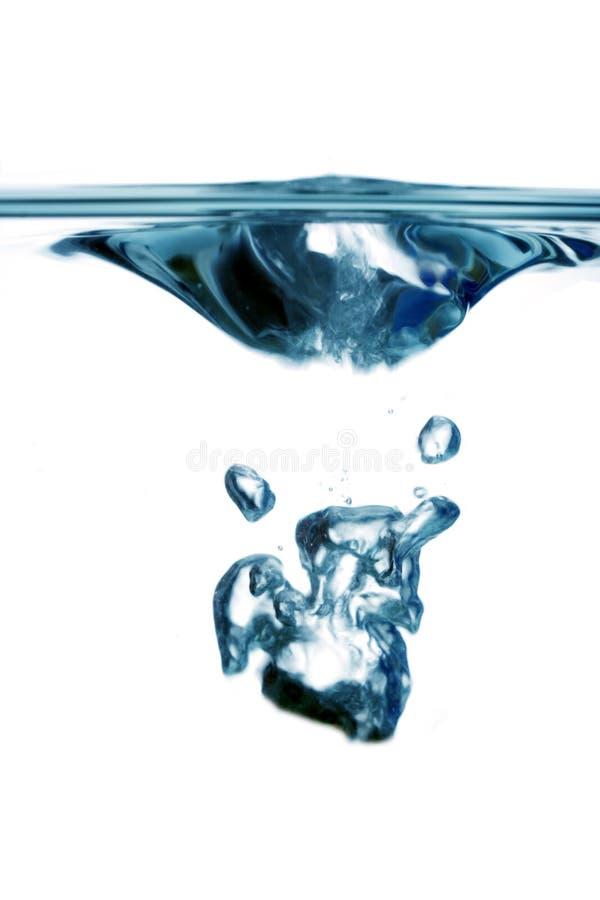 Plop dell'acqua immagini stock