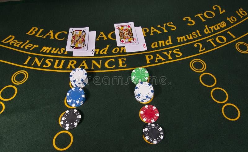 Plot noir de casino images stock