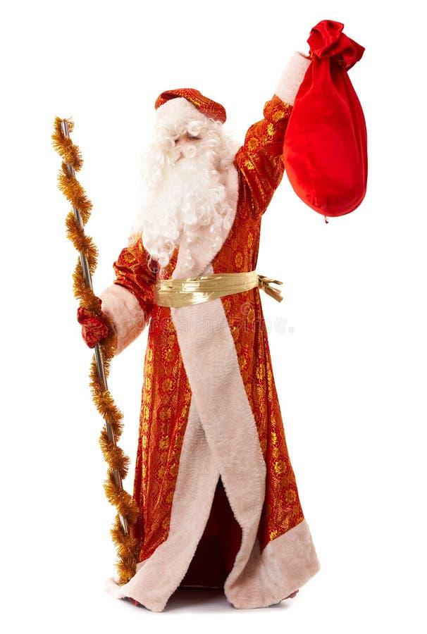 plot Santa de gel de Claus traditionnelle image libre de droits