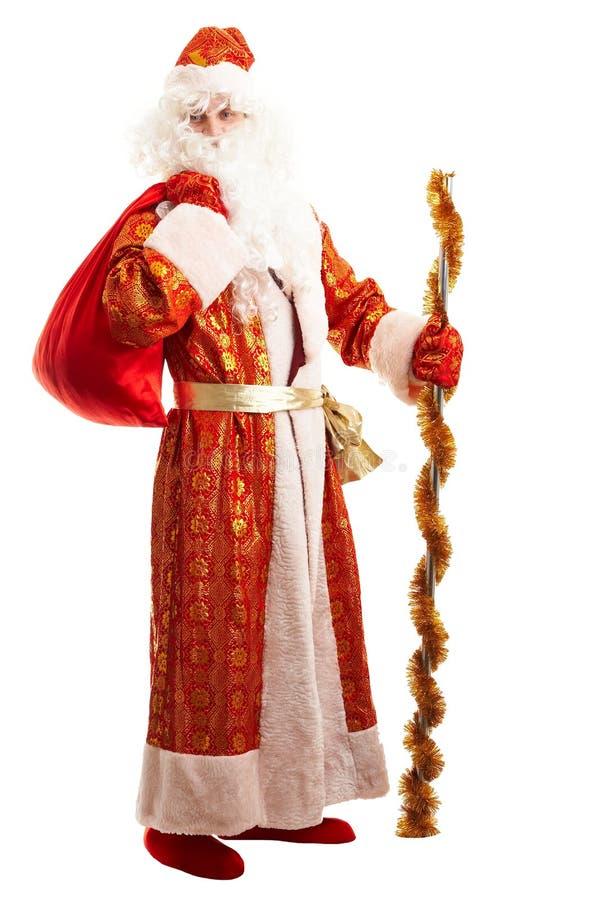 plot Santa de gel de Claus traditionnelle images libres de droits
