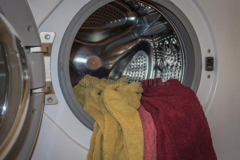 Plotka, brudna pralnia obrazy royalty free