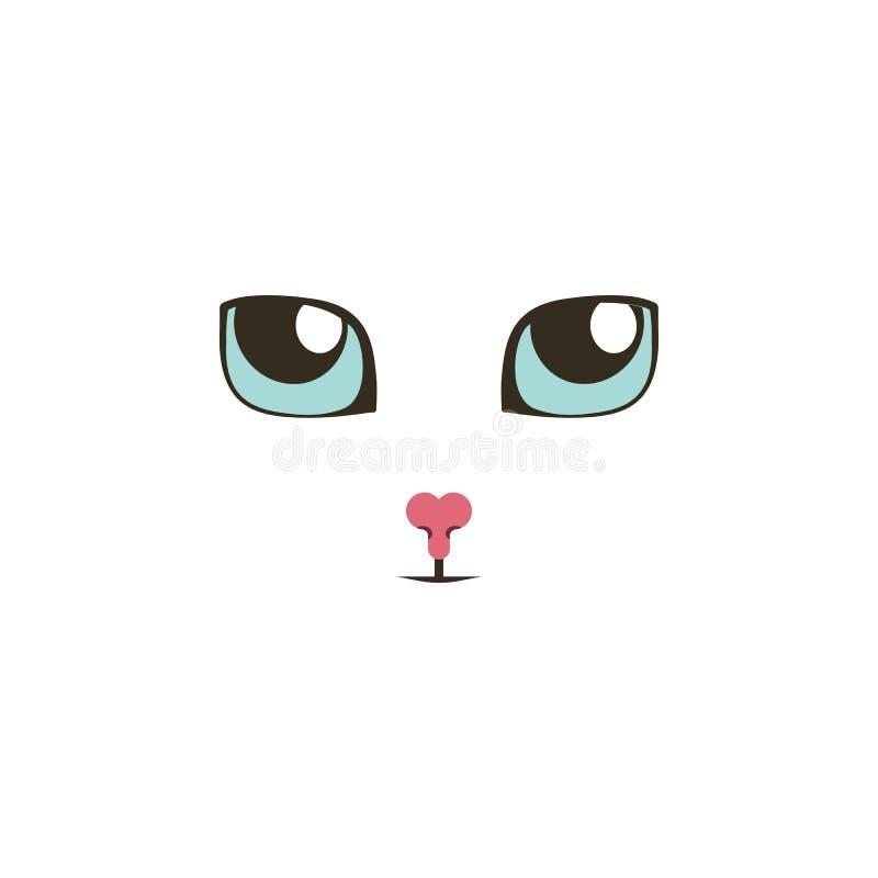 Plots réflectorisés doux recherchant l'icône de couleur Éléments des icônes colorées multi de yeux Icône de la meilleure qualité  illustration de vecteur