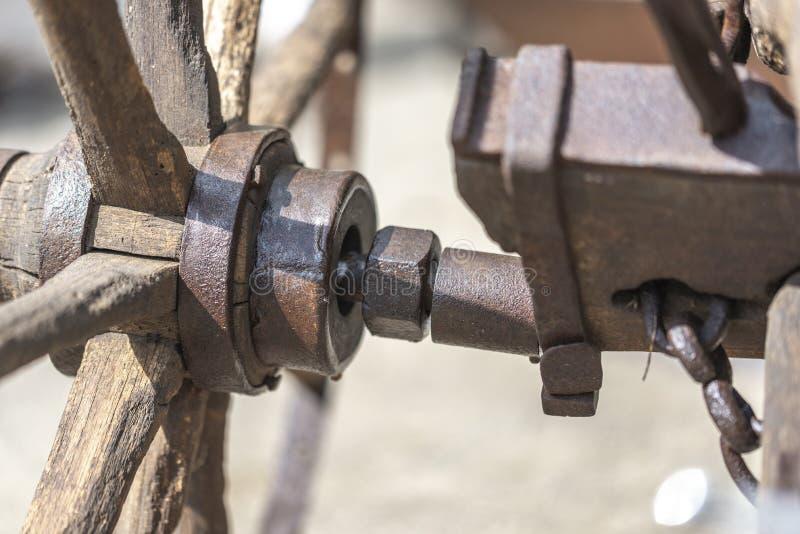 Plough Wheel Hub royalty free stock images