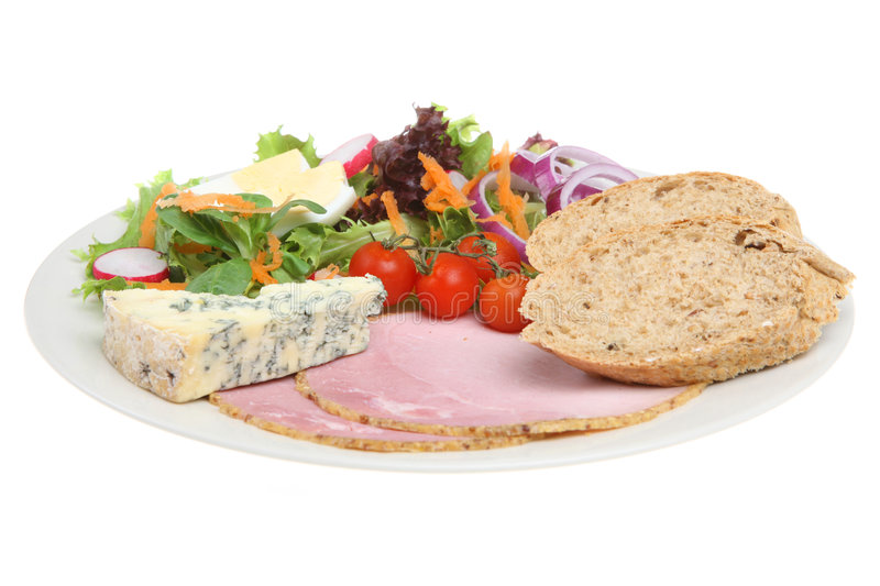 Ploughman Lunch stock foto