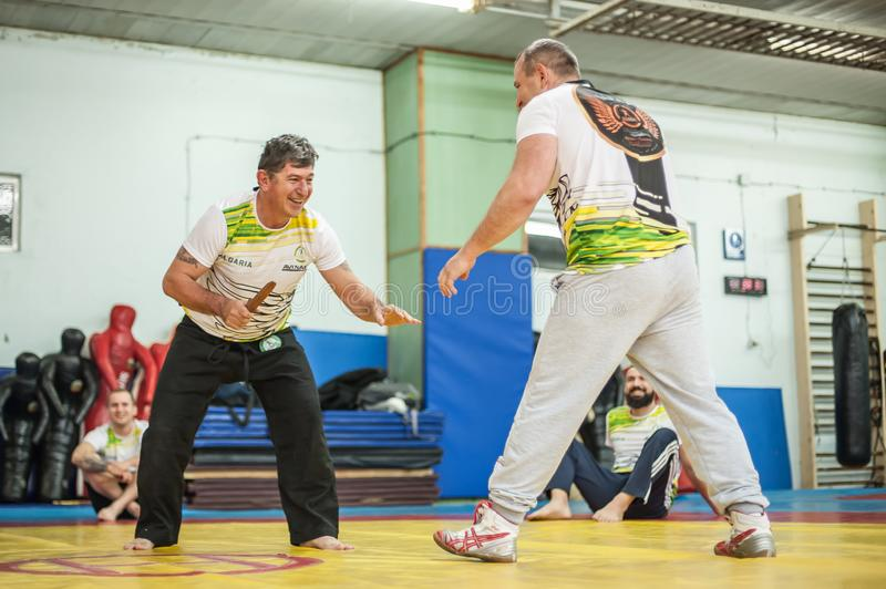 Knife Vs Knife  Kapap Instructor Demonstrates Fighting And