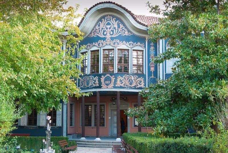 PLOVDIV, BULGARIJE - JANUARI - het Regionale Museum royalty-vrije stock afbeeldingen