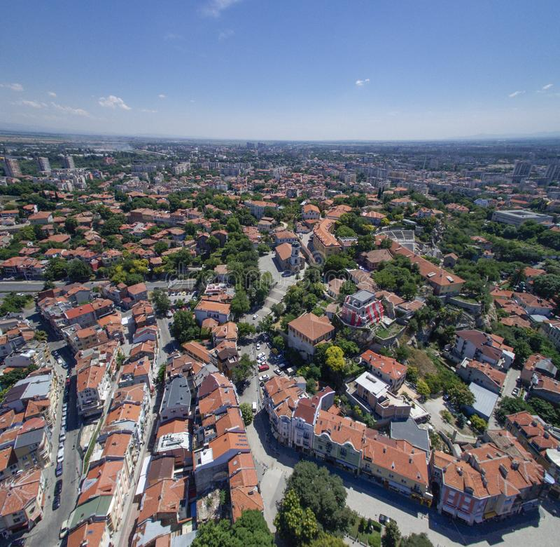Plovdiv, Bulgarije, 23 Oktober 2018 royalty-vrije stock foto's