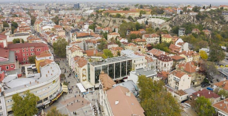 Plovdiv, Bulgarije, 23 Oktober 2018 stock foto's