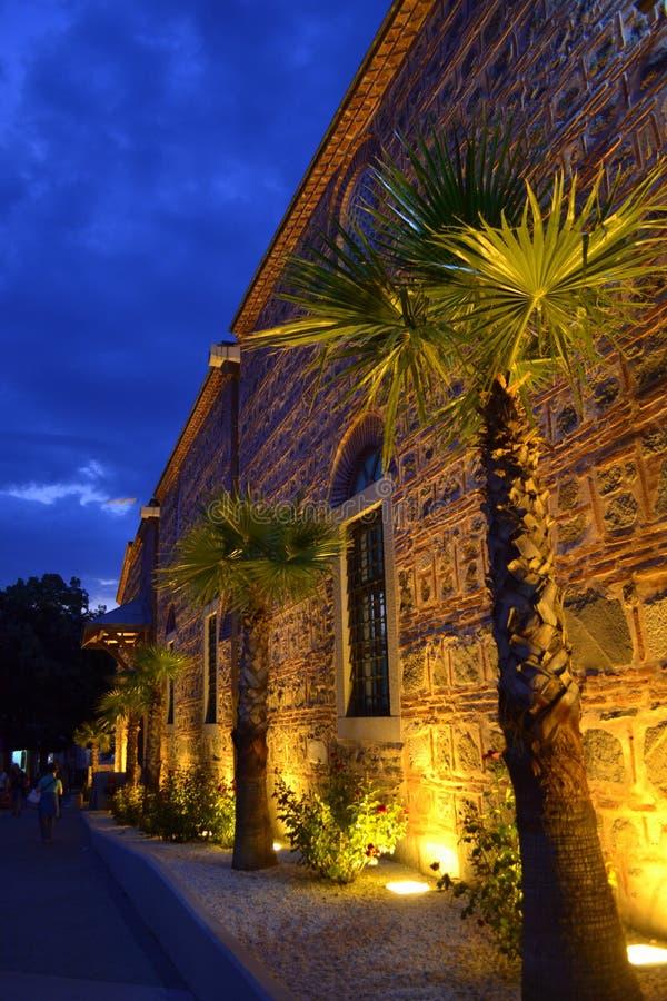Download Plovdiv miasta nocy ulica obraz stock. Obraz złożonej z ulica - 57656385