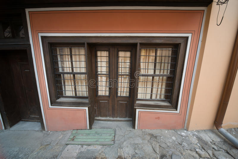 Plovdiv. Window to Bulgarian history royalty free stock photo