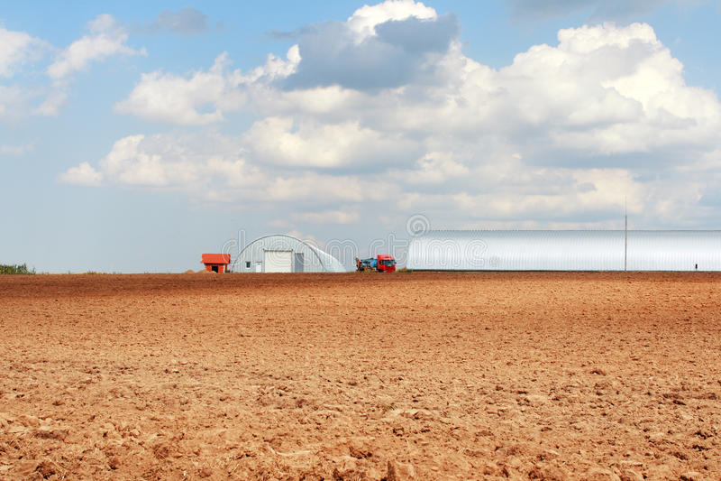 Download Plowed Field stock photo. Image of hangar, agriculture - 26052278