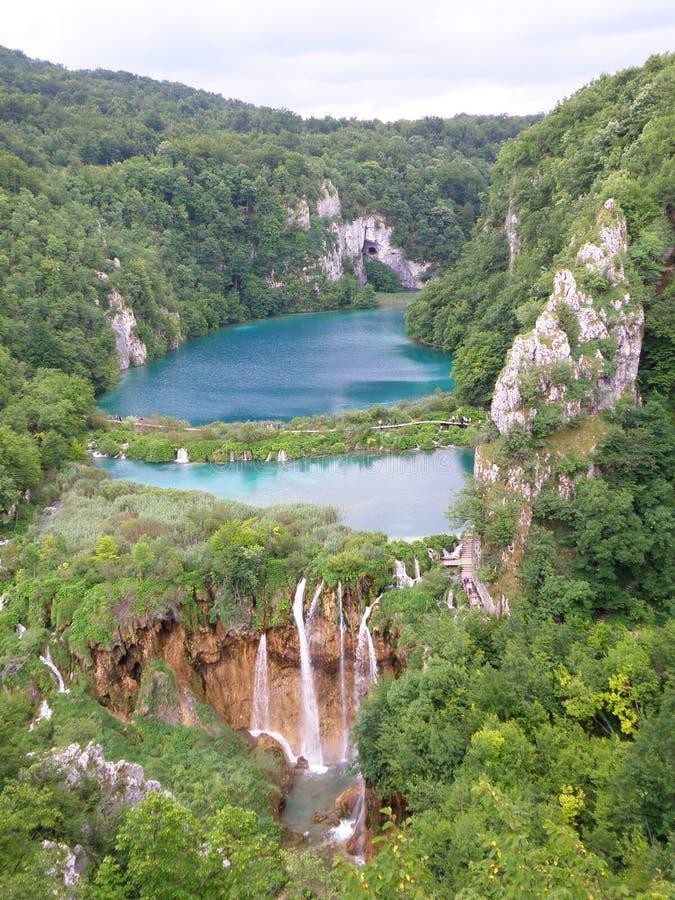 Pltvice湖 免版税库存照片