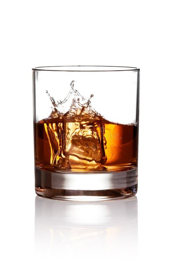 pluśnięcia whisky obrazy royalty free