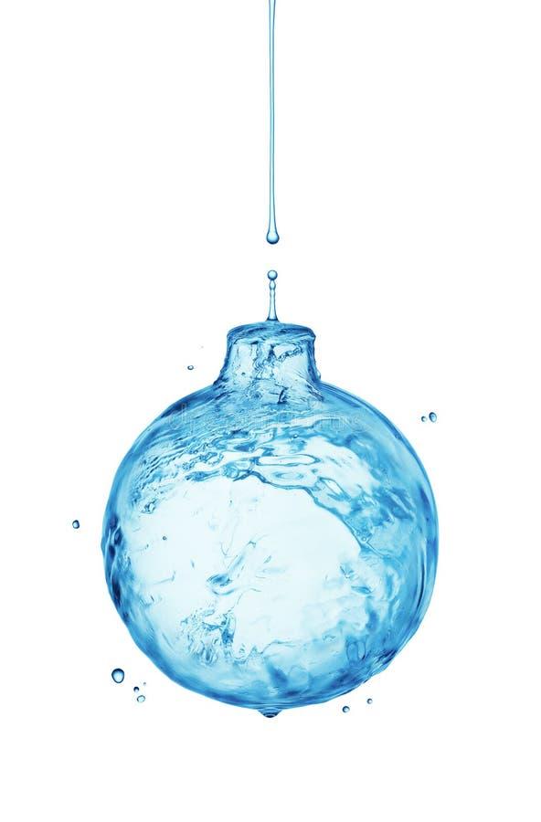 Pluśnięcia wodny bauble obraz royalty free