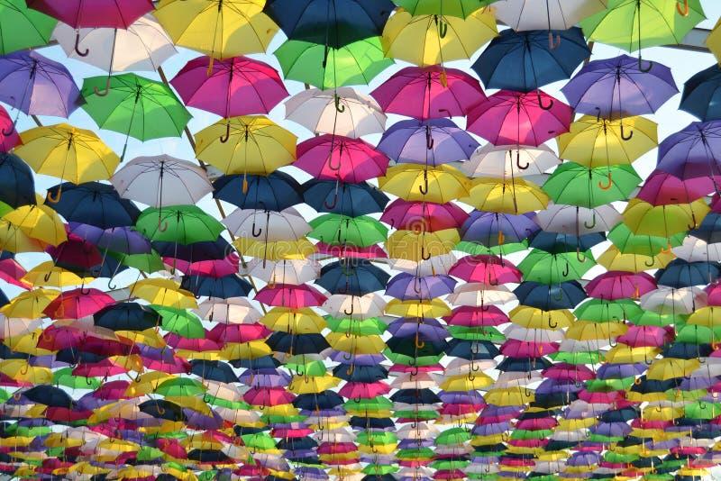 Pluśnięcie kolor w niebie obrazy stock