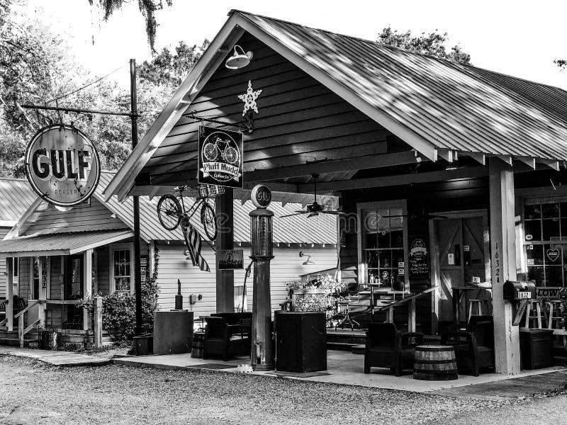 Pluff Mudd, Café Empresa, Port Royal, South Carolina foto de stock royalty free