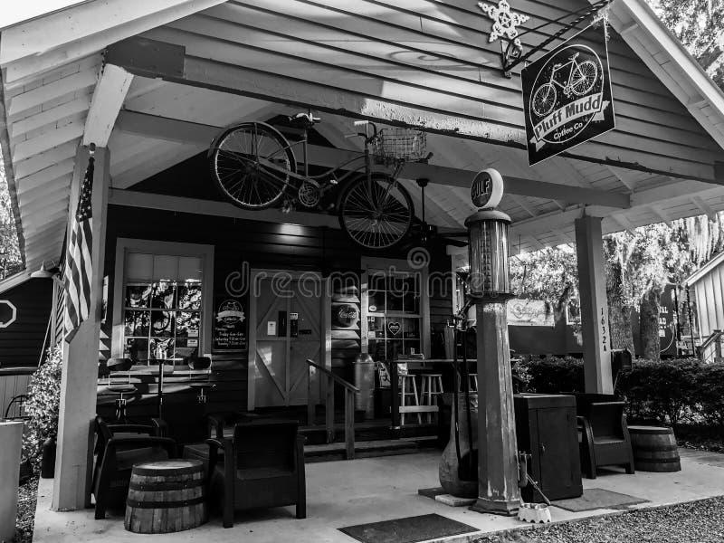 Pluff Mudd, Café Empresa, Port Royal, South Carolina fotografia de stock