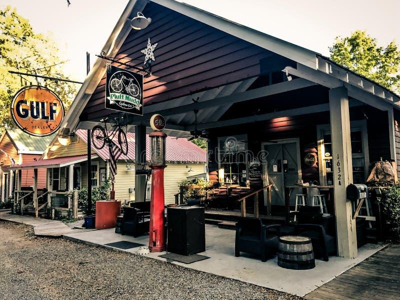 Pluff Mudd, Café Empresa, Port Royal, South Carolina fotos de stock royalty free