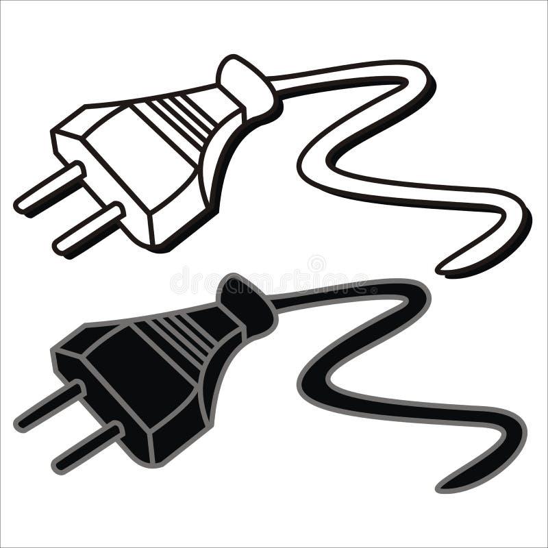 Plug stock illustration