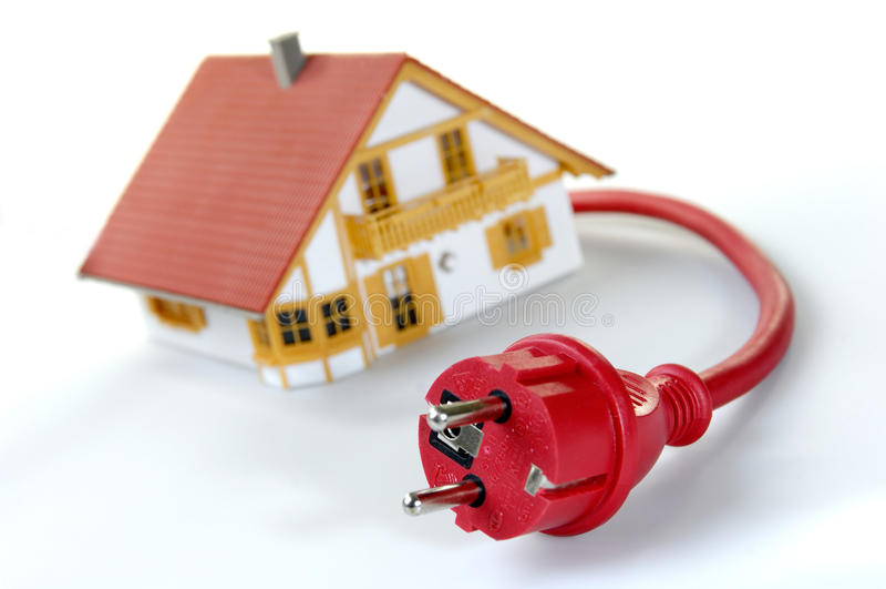 Plug house stock images
