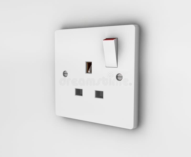 Plug socket vector illustration