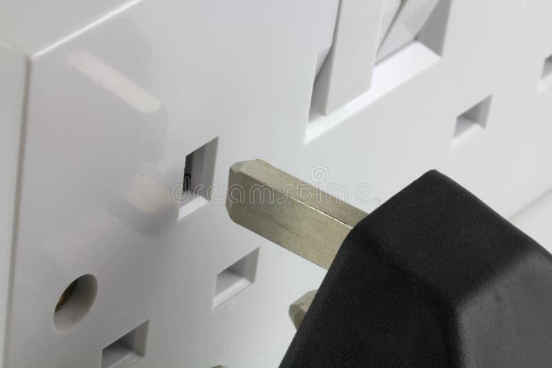 Plug and socket stock photography