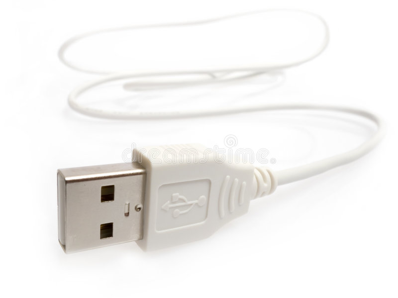 Plug USB royalty free stock images